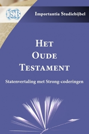 Dutch Old Testament with Strongs numbers