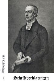 Schriftverklaringen 8 - H.F. Kohlbrügge