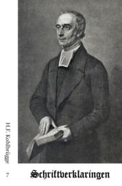 Schriftverklaringen 7 - H.F. Kohlbrügge