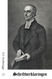 Schriftverklaringen 13 - H.F. Kohlbrügge