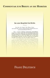 Commentar zum Briefe an die Hebräer- Franz Delitzsch