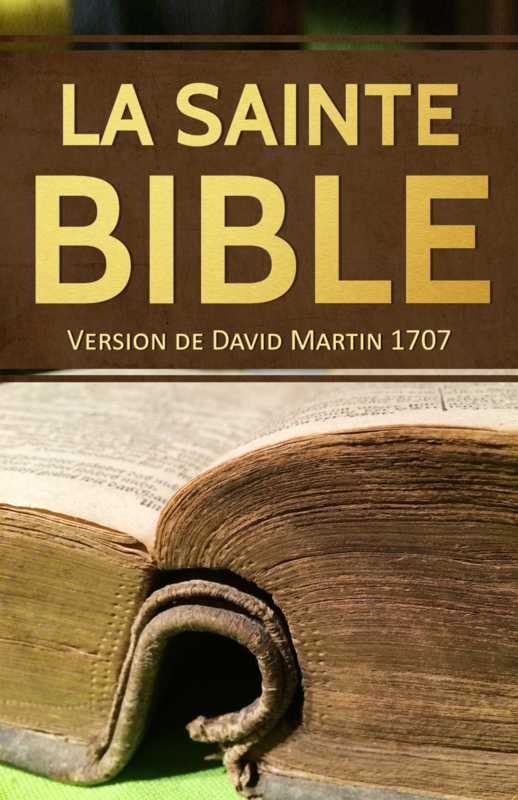 La Bible David Martin - 1707 - Edition BOL