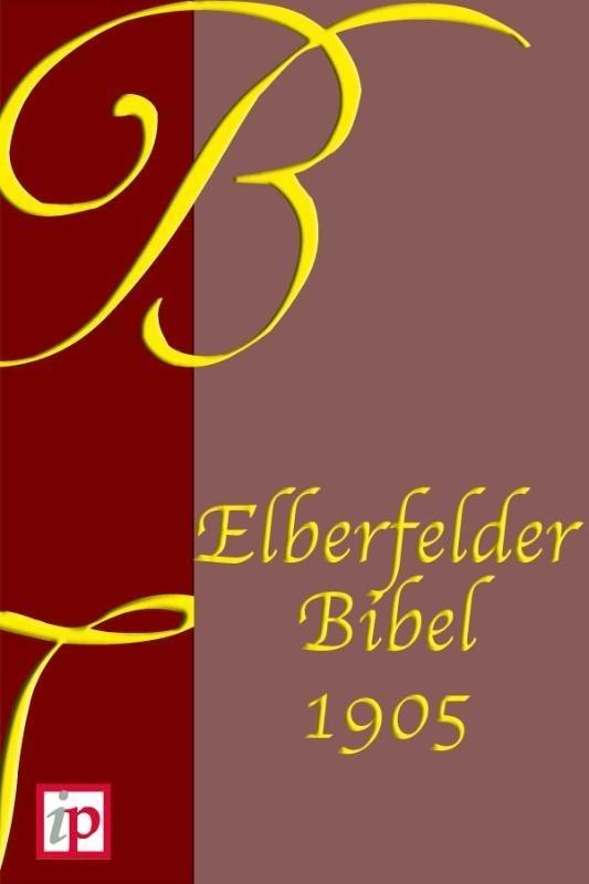 Bible Elberfelder non révisée – livre numérique