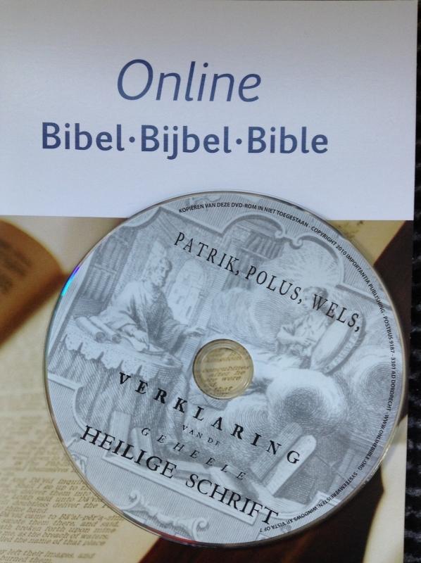 Patrick Polus Wels tbv Online Bijbel Windows