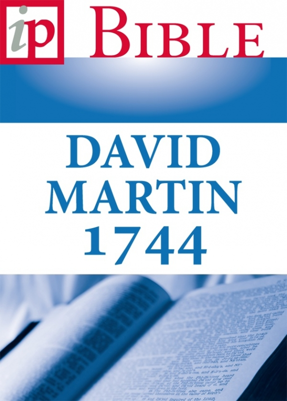 Bibel - David Martin 1744 - ebook