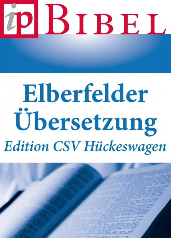 Bible – Édition CSV Hückeswagen de la traduction Elberfelder 2006 – livre numérique