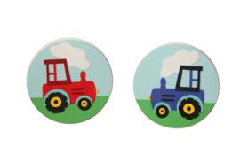 Slinger tractor met naam