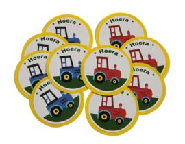 Traktatie Tractor gepersonaliseerd