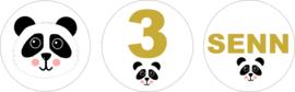 Traktatie Panda gepersonaliseerd