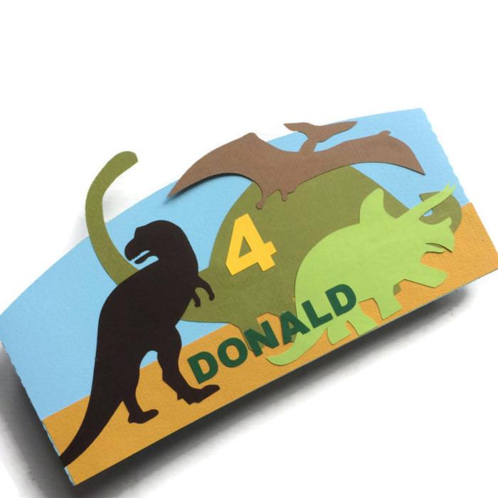 Dino's silhouette