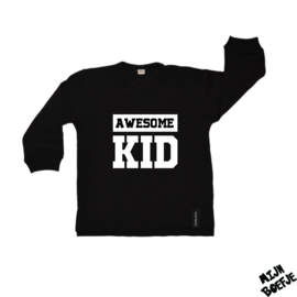 Baby/kinder sweater Awesome kid