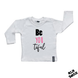 Baby t-shirt Be you tiful