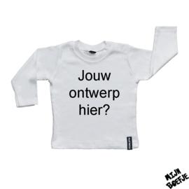 Baby t-shirt EIGEN ONTWERP