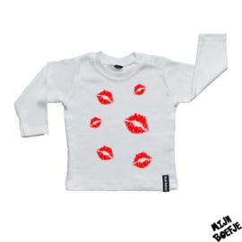 Baby t-shirt Lipkusjes