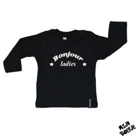 Baby t-shirt Bonjour ladies