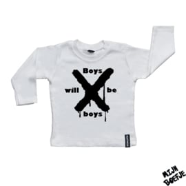 Baby t-shirt Boys will be boys