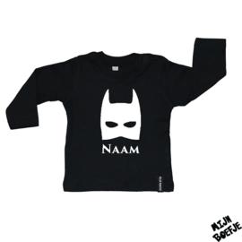Baby t-shirt Batman met eigen naam