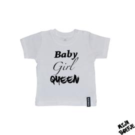 Baby t-shirt BABY, GIRL, QUEEN
