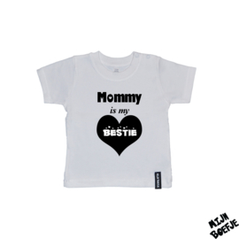 Baby t-shirt Mommy is my bestie