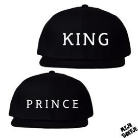 Twinning petjes King - Prince