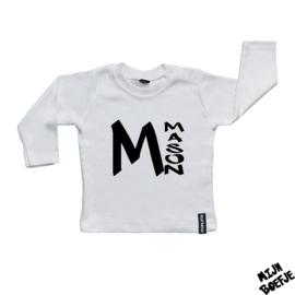 Baby t-shirt Eigen letter inclusief naam 2