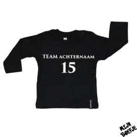 Baby t-shirt TEAM ACHTERNAAM