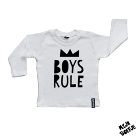 Baby t-shirt Boys rule