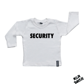 Baby t-shirt SECURITY