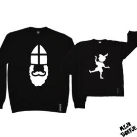 Ouder & kind/baby sweaters SINT / PIET