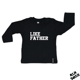Baby t-shirt Like father