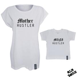 Ouder & kind/baby t-shirt Mother Hustler