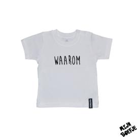 Baby t-shirt Waarom
