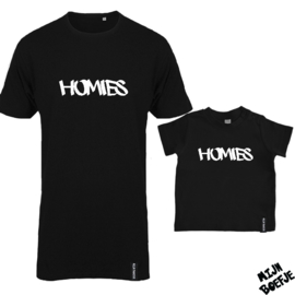 Ouder & kind/baby t-shirt Homies