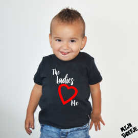 Baby t-shirt The Ladies Love Me