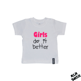 Baby t-shirt Girls do it better