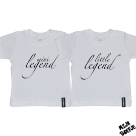 Baby t-shirt LITTLE LEGEND - MINI LEGEND