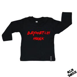 Baby t-shirt Baywatch Hunk