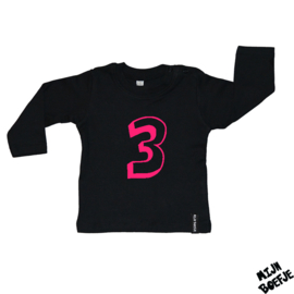 Baby t-shirt Eigen cijfer