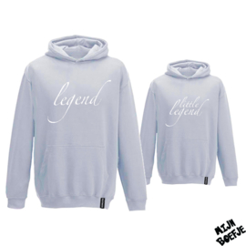 Ouder & kind hoodies Legend - Little legend