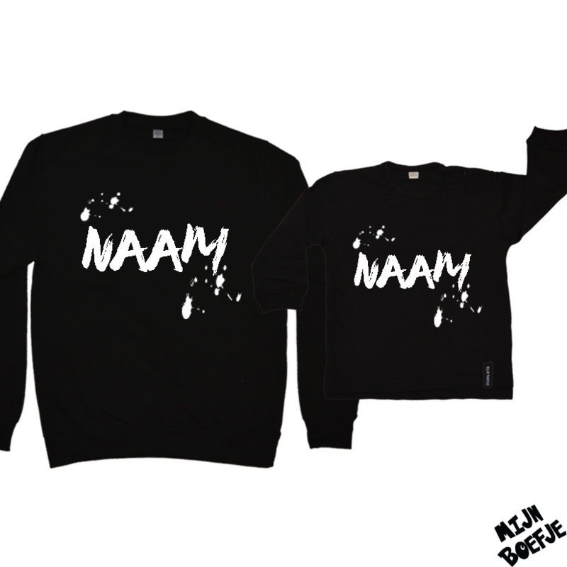 Ouder & kind/baby sweaters NAAM