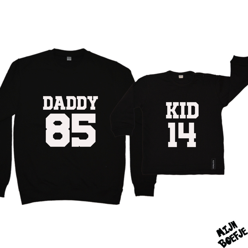 Ouder & kind/baby sweaters DADDY - KID / BABY