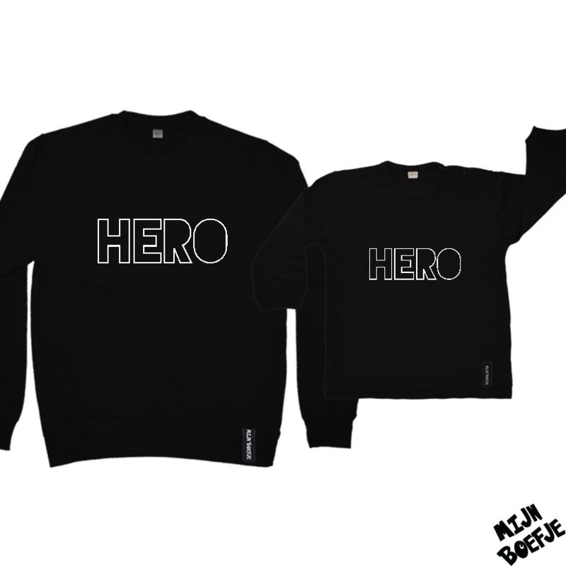 Ouder & kind/baby sweaters HERO