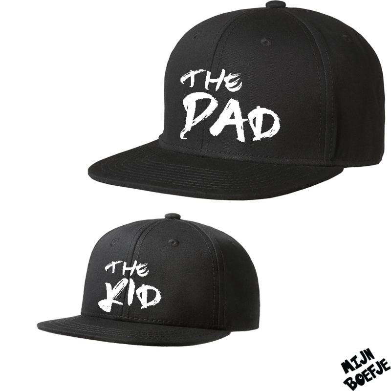 Twinning petjes the Kid - the Dad