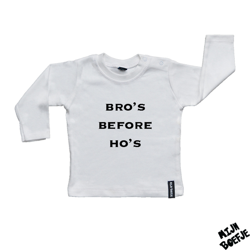 Baby t-shirt BRO'S BEFORE HO'S