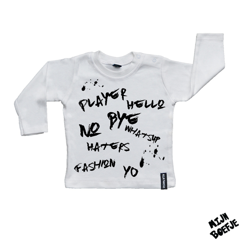 Baby t-shirt Whatsup