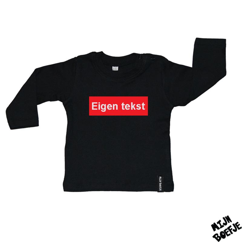 Baby t-shirt Eigen tekst