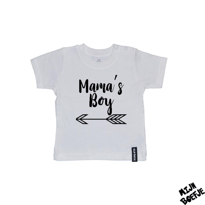 Baby t-shirt MAMA'S BOY