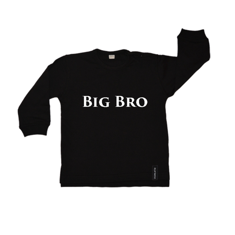 Baby/kinder sweater Big Bro