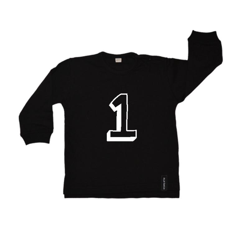 Baby/kinder sweater Eigen cijfer