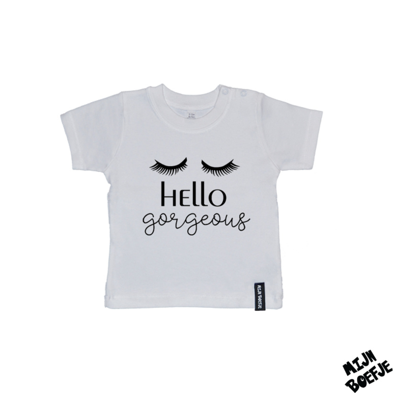 Baby t-shirt Hello gorgeous